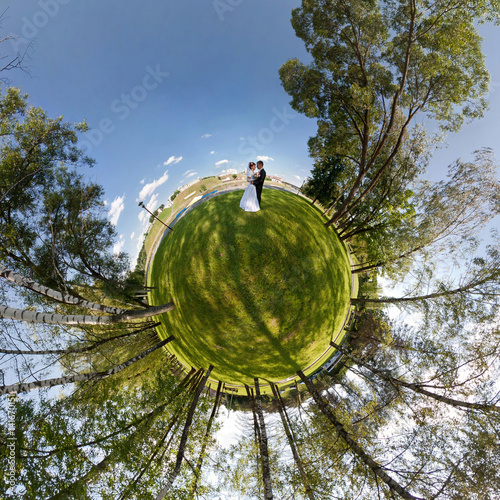 Poster Little planet