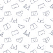Underwear seamless pattern background
