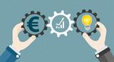 Hands Gears Idea Bulb Euro Investor Concept Success - 141722954