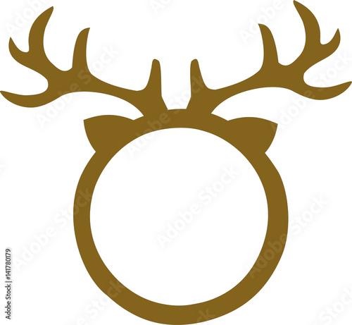 Deer Frame for Monogram   Buy Photos   AP Images   DetailView