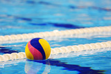 Colorful water ball in swimming-pool - 141783974
