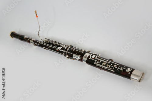 Classical music wind instrument bassoon - 141835721