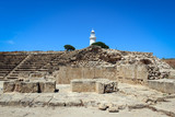 Archaelogical site in Paphos, Cyprus