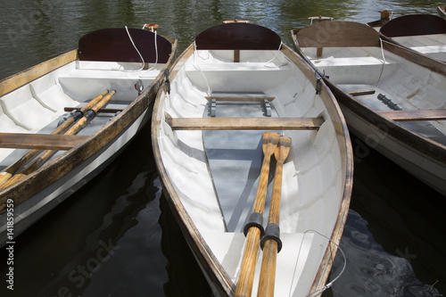 Poster Rowing Boat on River, Stratford Upon Avon