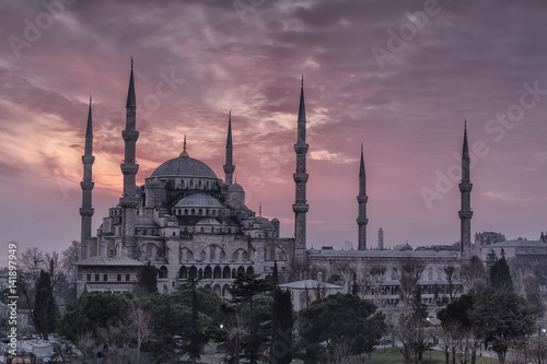 Blue Mosque -Sultanahmet Mosque Istanbul, Turkey Poster