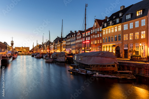 Copenhagen Nyhavn Denmark Poster