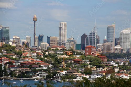 Poster Sydney-Skyline