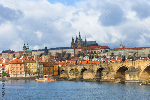 Poster Charles Bridge (Karluv Most), Prague