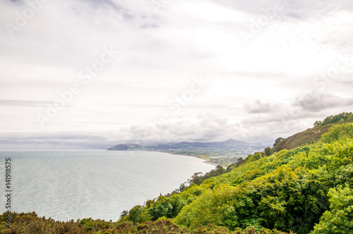 Poster View on picturesque Coastline by Kiliney Ireland