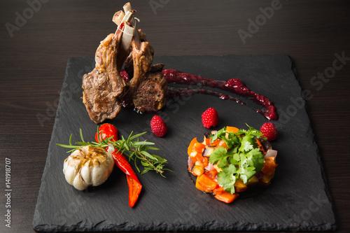Rack of lamb
