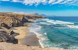 Fototapety Traumbucht an der Westküste von Fuerteventura Playa del Viejo Rey