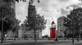 Lighthouse in citycentre of Rotterdam, Holland