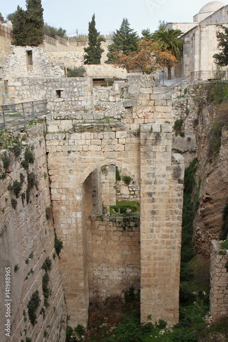 Pool of Bethesda - Jerusalem - Israel Poster