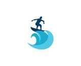 Surfing logo - 141992785
