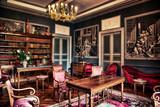 CHATEAU DE GARREVAQUES - Salon rouge - - 142001998