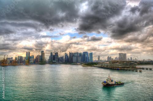 Plagát Singapur