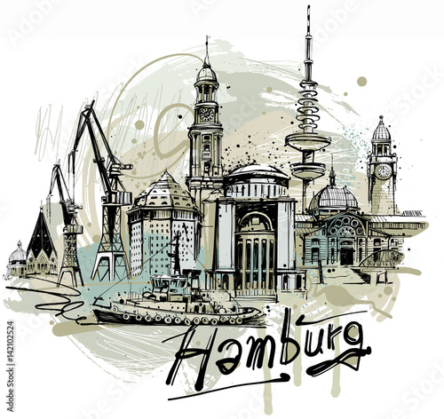 Hamburg Sketch