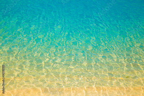Abstract nature background from gradient colors on ocean beach