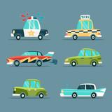 Cartoon Cars.
