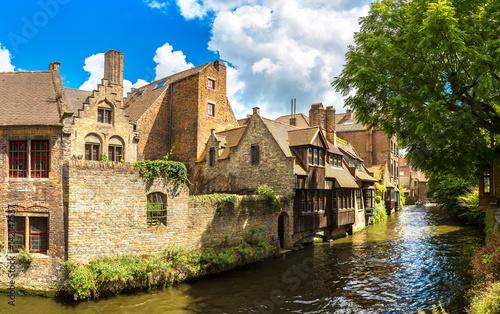 Papiers peints Bruges Canal in Bruges