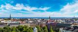 Panoramiczny widok z Helsinek