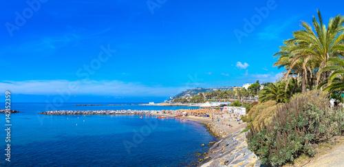 Staande foto Liguria Mediterranean coast in San Remo
