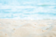 Quadro sand beach and sea background