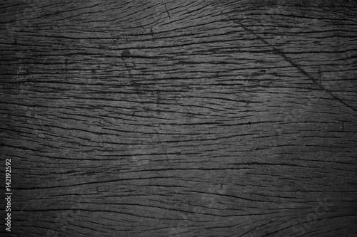 Tuinposter Hout Wood Dark background texture. Blank for design
