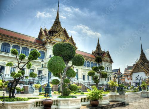 Poster Gran palacio de Bankok