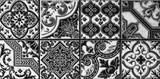 Mosaic, abstract geometric pattern, ceramics, tile - 142246172