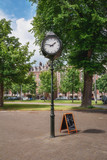 A characteristic clock on a square