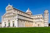 Katedra w Pizie na placu cuda, Toskania, Włochy