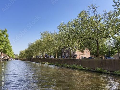Poster Grachten in Amsterdam