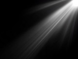abstract beautiful rays of light on black background. - 142298783