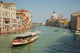 VENICE, ITALY . View of water street and old buildings in Venice. Canal in Venice, Italy. Architecture and landmarks of Venice