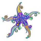 Starfish Tattoo Style