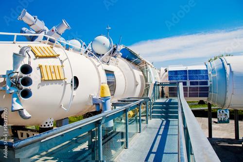 Aluminium UFO Station spatiale MIR