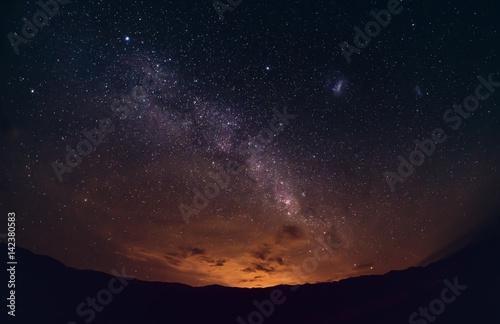 Poster Night sky in province of San Juan II, Argentina