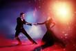 vigorous tango dance