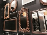 many mirror on wall