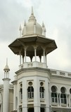 Tower of the Kuala Lumpur train station.