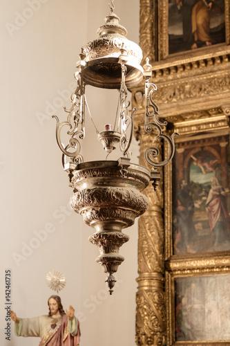 Kirche in Funchal auf Madeira Kerzenhalter