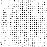 Seamless Circle Pattern. Vector Dot Background