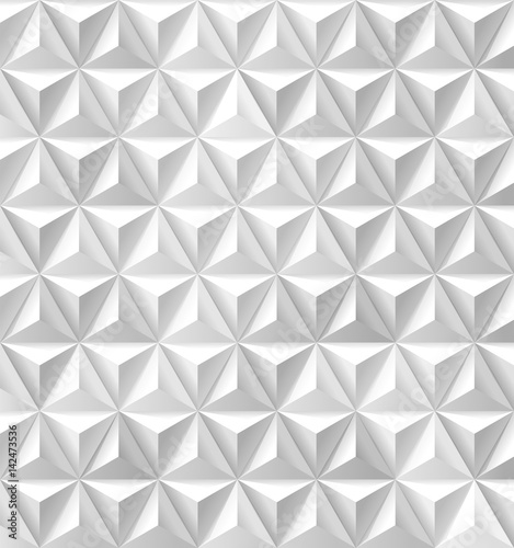Triangles and Pyramids white background - 142473536