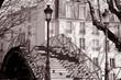 Bridge over Canal St Martin in Paris, France