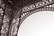 Detail of the Structure of the Eiffel Tower, Paris, France