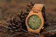 часы в лесу