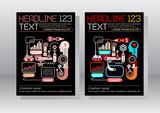 E-commerce Business Leaflet Template Design