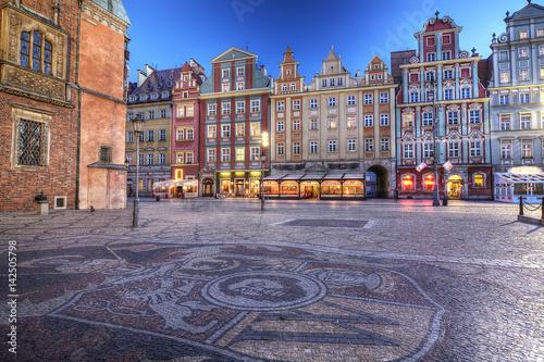 fototapeta na ścianę Wrocław stare miasto
