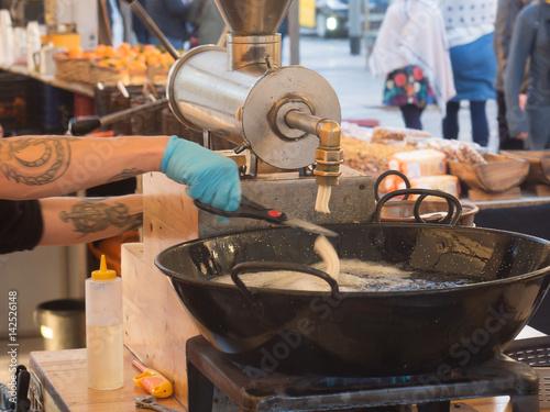 Churros eatery in Barcelona